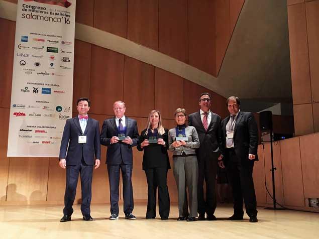 Los galardonados en los Premios RSC de Intermundial Seguros