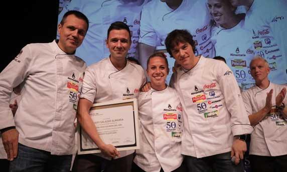 Finalista del Concurso Cocinero del Año