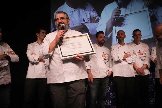 Pedro Montolio, del hotel Barcelona Princess, el otro chef finalista