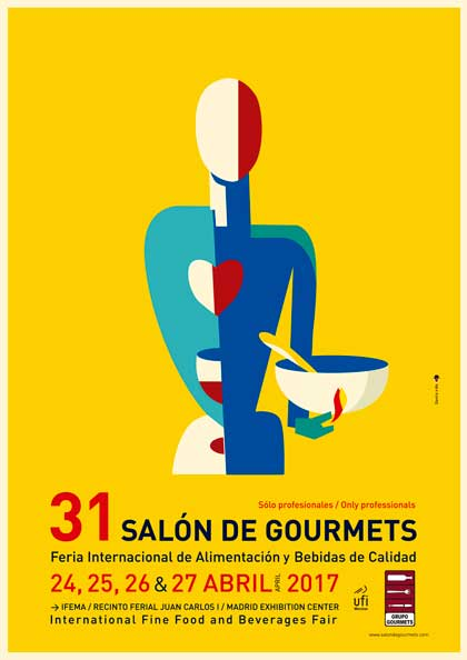 Cartel del Salón de Gourmets 2017