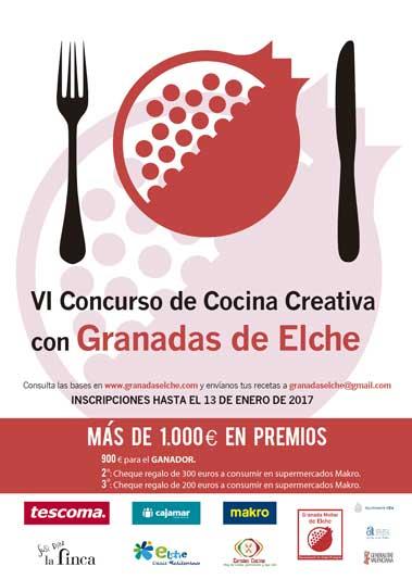 Cartel concurso Granada Elche