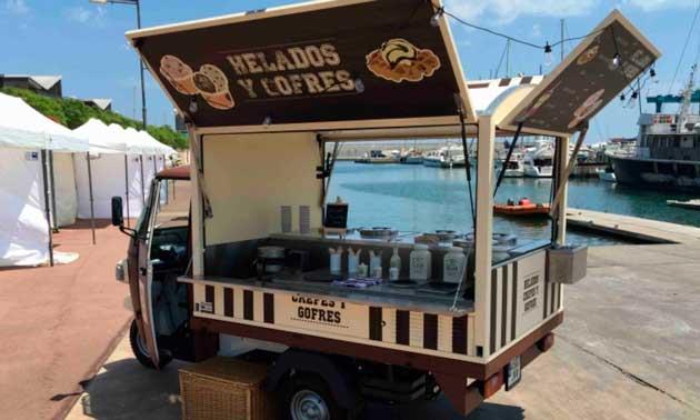 Vehículo de Food Truck BDN