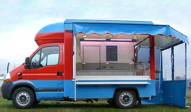 Food truck de Parry