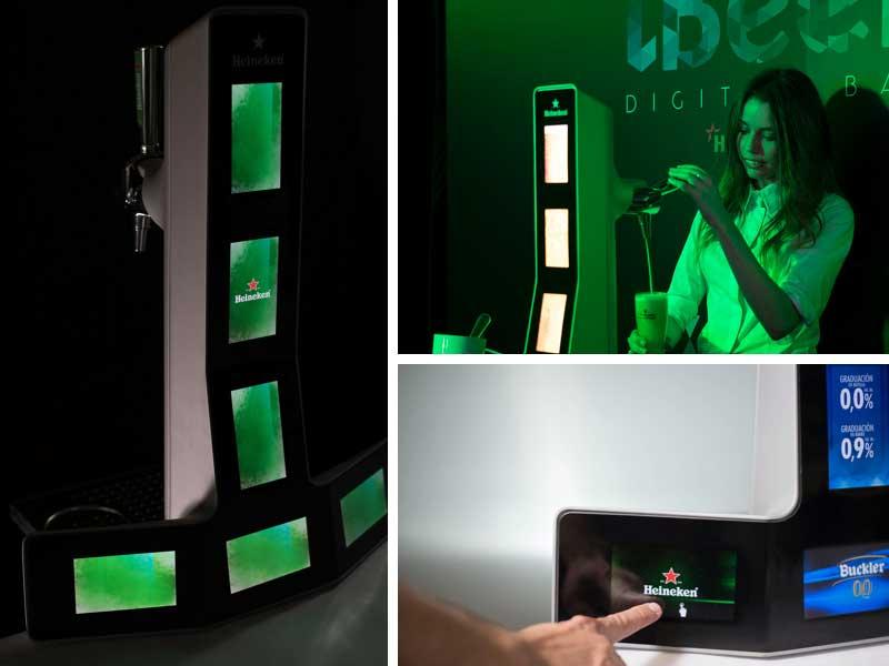Heineken lanza ibeer el grifo de cerveza inteligente - Grifos inteligentes ...
