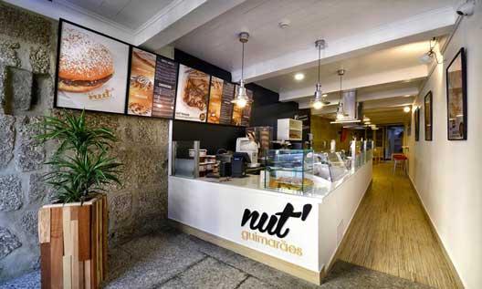 Uno de los locales Nut' en Portugal