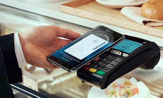 Pagando con Samsung Pay
