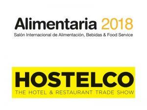 Logos de Alimentaria + Hostelco