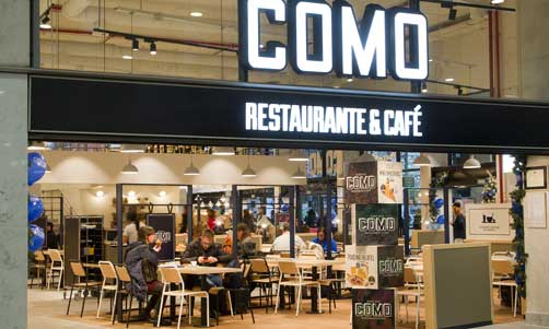 Restaurante-cafetería Como de la estación de Sant, de Areas