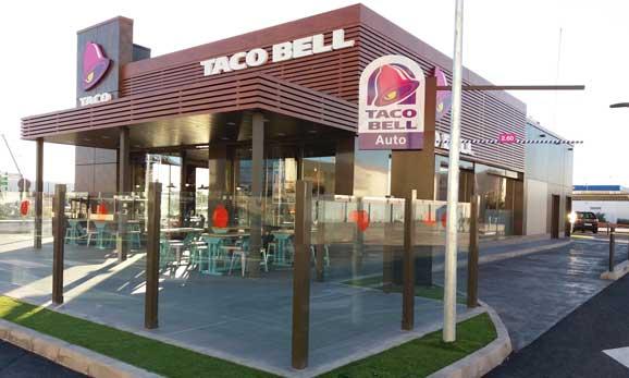 Uno de los restaurantes de Taco Bell en España