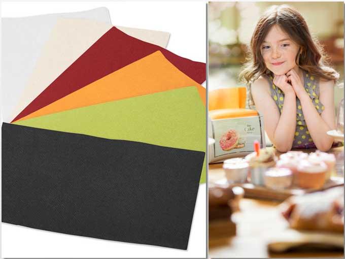 La nueva línea de servilletas de colores para los servilleteros Xpressnap