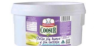 Mayonesa Coosur sin huevo y sin lactosa