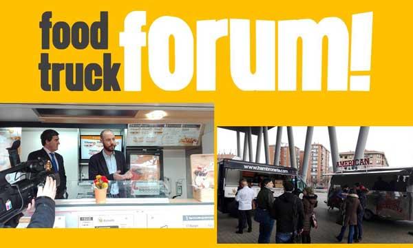 Imágenes de la presentación del Food Truck Forum, en el BEC de Bilbao