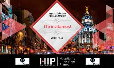 Cartel de invitación a HIP 2017