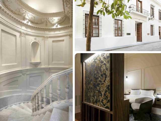 Los exquisitos interiores del hotel Mercer Sevilla