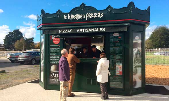 Kiosco de Le Kiosque à Pizzas