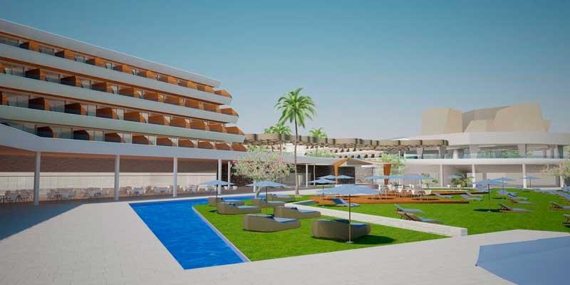 La fachada y exterior del Radisson Blu Resort & Spa Gran Canaria Mogán