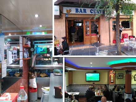 Imágenes del bar en alquiler