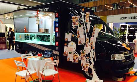 El food truck Hambroneta Black