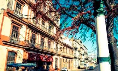 Fachada del hotel Sercotel San Alejandro, en La Habana,