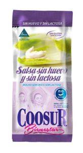 Sobre monodosis de mayonesa Coosur sin huevo ni lactosa
