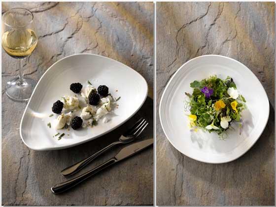 Dos platos de vajilla Discover, de Churchill