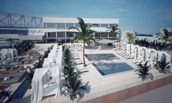 Así va a ser el nuevo Club Café del Mar