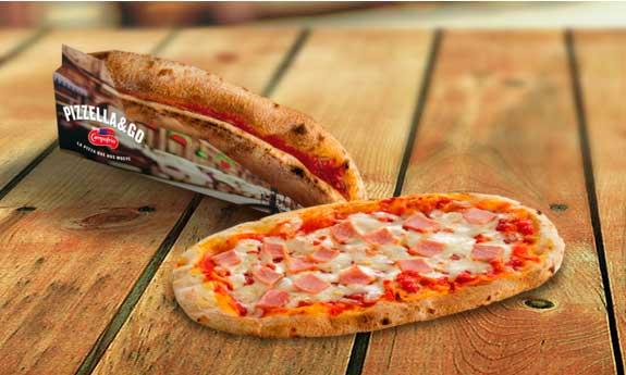 Pizzas artesanas Pizzella & Go de Campofrío