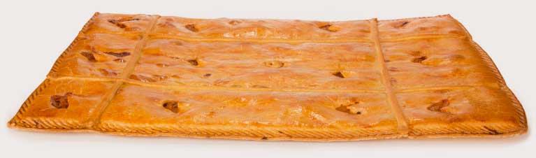 La empanada Chousa de mayor tamaño para la hostelería: 57x37