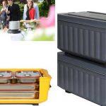 Calienta-platos y contenedores isotérmicos: tres innovaciones Dégerman para catering y colectividades