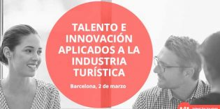 Talent For Tourism, congreso para profesionales del turismo, en Barcelona