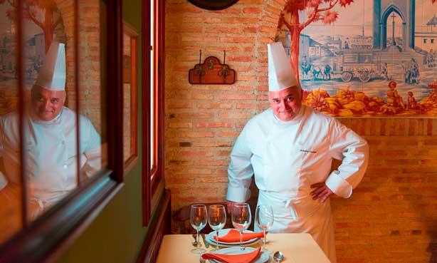 El asturiano Antonio Cosmen, alma mater del restaurante Cruz Blanca Vallecas