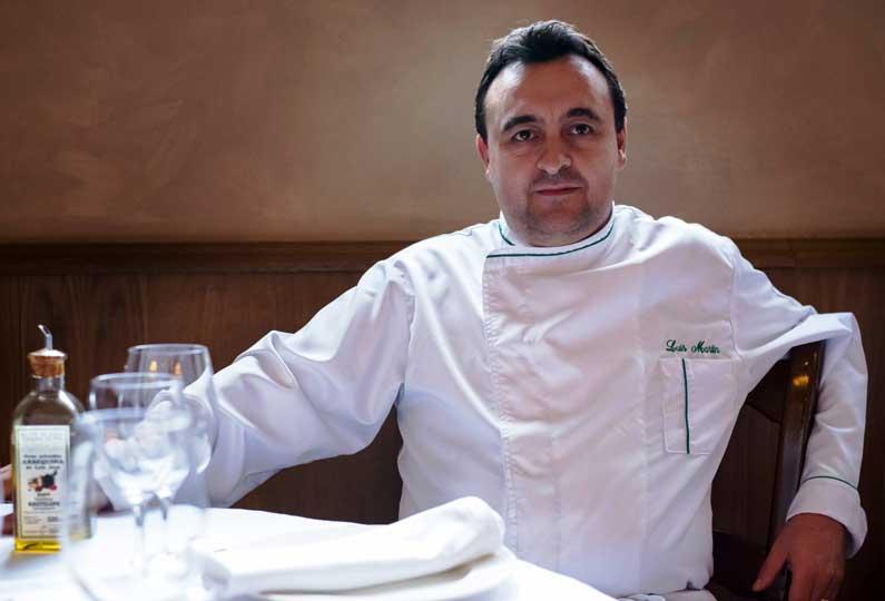 Luis Martín, chef ejecutivo del madrileño Goizeko Kabi
