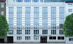 La fachada del nuevo Two-Hotel Berlin by Axel,