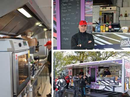 El horno Convotherm mini, en un food truck