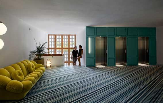 Hall del hotel Inturotel cala Esmeralda