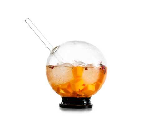 Infusion bowl de cristal borosilicato de 100%Chef