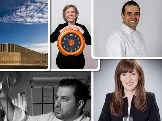 Algunos de los galardonados este año por la Real Academia de Gastronomía