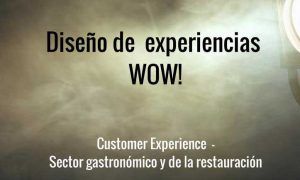 Cartel curso Customer Experience