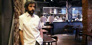 La chaquetilla de cocina de Diego Guerrero