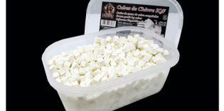 Dados congelados de queso de cabra para horeca