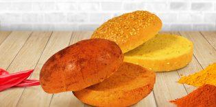 Nuevos panes de hamburguesa Ibepan: al curry y paprika… (+ recetas)