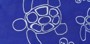 Lo último en toallas de baño: el color Lapis Blue