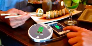Chargefix: carga tu móvil en la mesa del bar o el restaurante