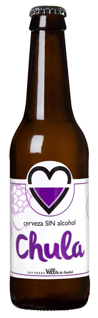 Cerveza artesana sin alcohol Chula sin
