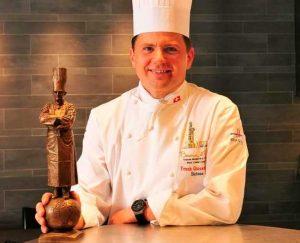 El chef Franck Giovannini
