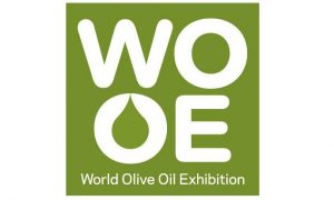 Logo de la World Olive Oil Exhibition (WOOE)