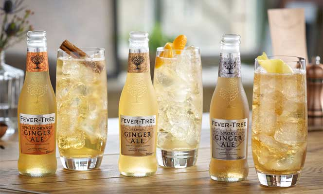 Ya son tres los ginger-ales de Fever-Tree: Spiced Orange' y 'Smoky' se unen al ginger-ale Premium