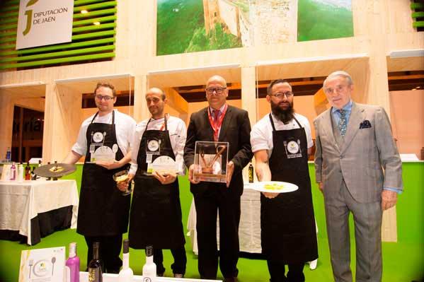 Los ganadores del concurso de cocina Jaén Paraíso Interior 2017
