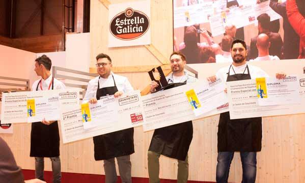 Los ganadores del concurso Gourmetapa