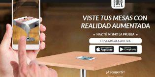 Viste las mesas de tu restaurante con la realidad aumentada de Mapelor